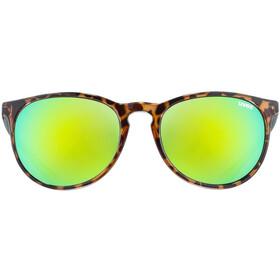 UVEX LGL 43 Okulary, havanna/mirror green